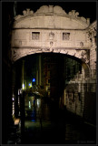 Bridge of Sighs at night (from the front)