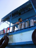 Mike on the dive boat