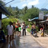 Songkran fun - Street