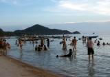 Songkran fun - in the sea