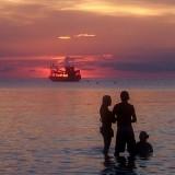 Songkran fun - Sunset