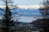 Flathead Lake Under The Fog