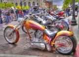 HDR - Bikes On The Bricks