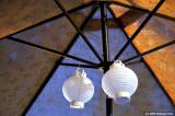 Umbrella and Lanterns