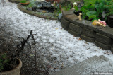 We just had a bit of a hail storm