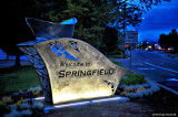 New Welcome To Springfield Artpiece