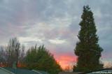 February 9th sunset