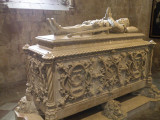 the tomb of Camoes, Portugal's first epic poet