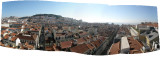 Lisbon: pano from the Bairro Alto