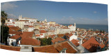 Lisbon: pano from the Alfama