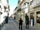 on the streets of Viana do Castelo in the far northwest (Costa Verde)