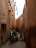 our riad is down this street