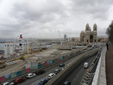 the Major cathedral and the new port