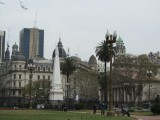 in the Plaza de Mayo