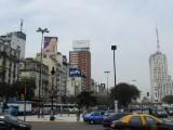 at Avenida 9 de Julio