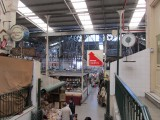 in the Mercado San Telmo, a large indoor market