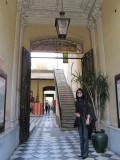 at the Pasaje de la Defensa, an old San Telmo mansion