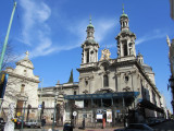 heading off from our hotel into the northern San Telmo neighborhood of Buenos Aires