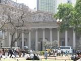 heading around the Plaza to the Metropolitan Cathedral...
