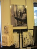 to a room commemorating Argentine women, including Eva Peron