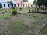 ruins of the first viceroy's mansion (17th c.)