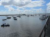 the yacht harbor