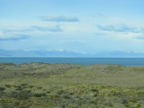 on the road from El Calafate around Lago Argentino