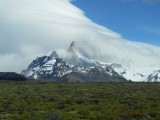 El Chalten means smoking mountain