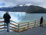 the north face of the glacier