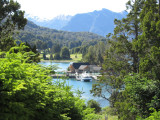 on the Circuito Chico near the Patagonian town of Bariloche, set in the Andes foothills