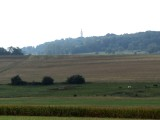 in the distance, the American monument on the butte of Montfaucon-d'Argonne