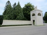 at the American military cemetery in Romagne-sous-Montfaucon