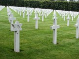 ...in the largest American cemetery abroad...