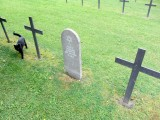 ...in a small but tidy cemetery