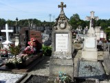 here, some of the French dead are buried in the communal cemetery...