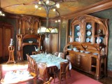 this Vallin-Prouvé dining room is spectacular