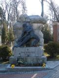 grave of Ivan Franko, national poet