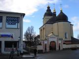 Ukrainian church; road to ghetto and Liebling/Horn lumber yard
