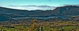 Lake Rotomahana, Mt Tarawera behind