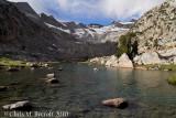 Lake, northwest of Donohue Pass
