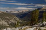View down Lyell Canyon.