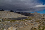 Final view northwest from Donohue Pass (11,060 feet)
