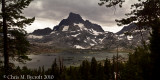 Banner Peak, beyond Thousand Island Lake