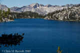 Lake Virginia and mountains of the Silver Divide