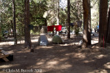 Day 11:  Rest day at Vemilion Valley Resort.  Our tent site.
