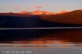 Sunset over Lake Thomas Edison
