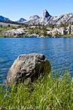 Dollar Lake, Fin Dome behind