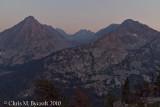 East Vidette, Deerhorn Mountain, West Vidette
