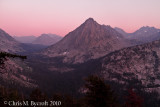 Alpenglow, Center Peak and East Vidette