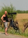 Me shooting Purple Heron at Zouwe Boezem